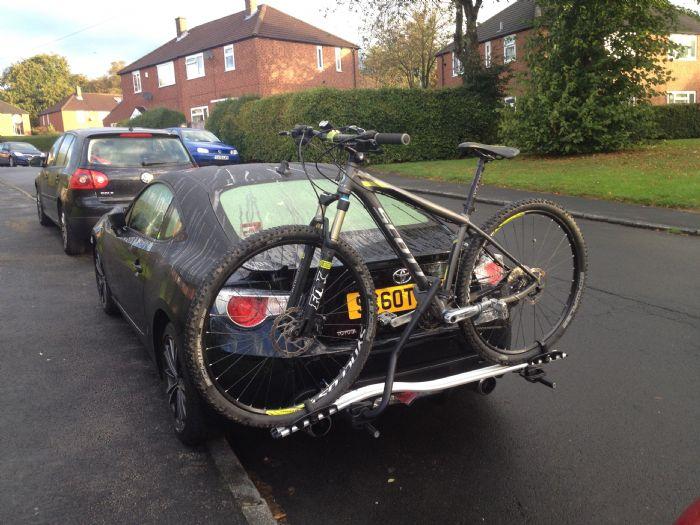 Custom Bike Rack Complete