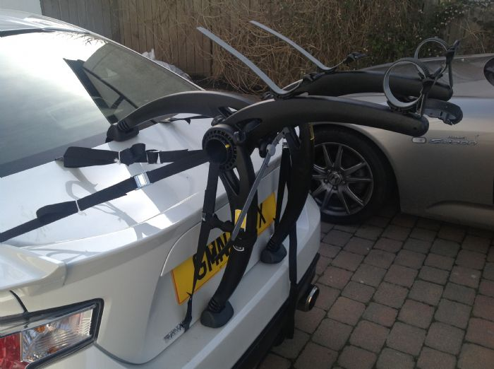 Recently Bought This Saris Bones 2 Bike Rack Which Fits Perfectly To The 86 So Easy Attach And Sy At Sd When Late For Races Any Excuse Eh