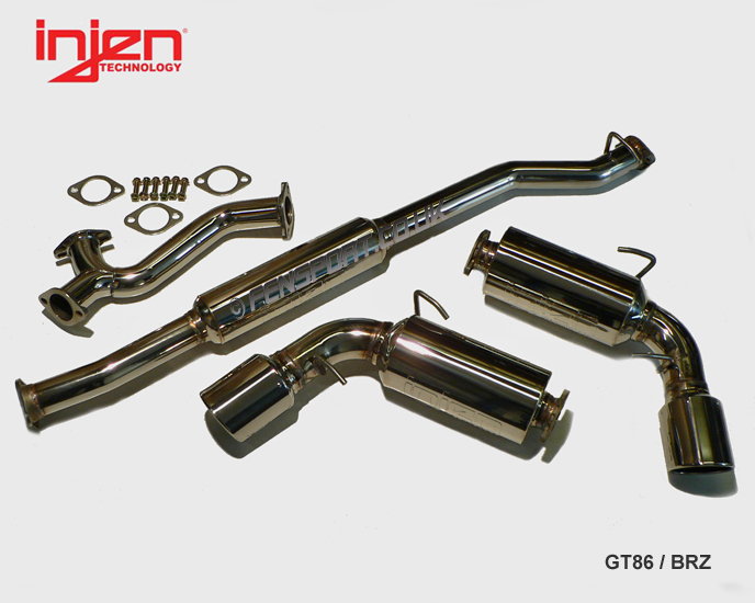 Injen SES Exhaust Systems - Toyota GT 86 Forums UK