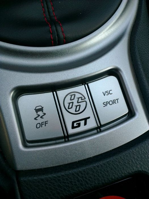 GT86 center console sticker - Toyota GT 86 Forums UK - Page 1